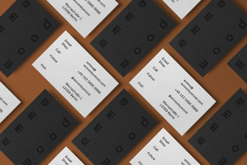 tumblr_pjcuxxaEka1r5vojso2_500 Brand Identity for Emma Wood by Gabby LordEmma Wood is a weaver,... Design