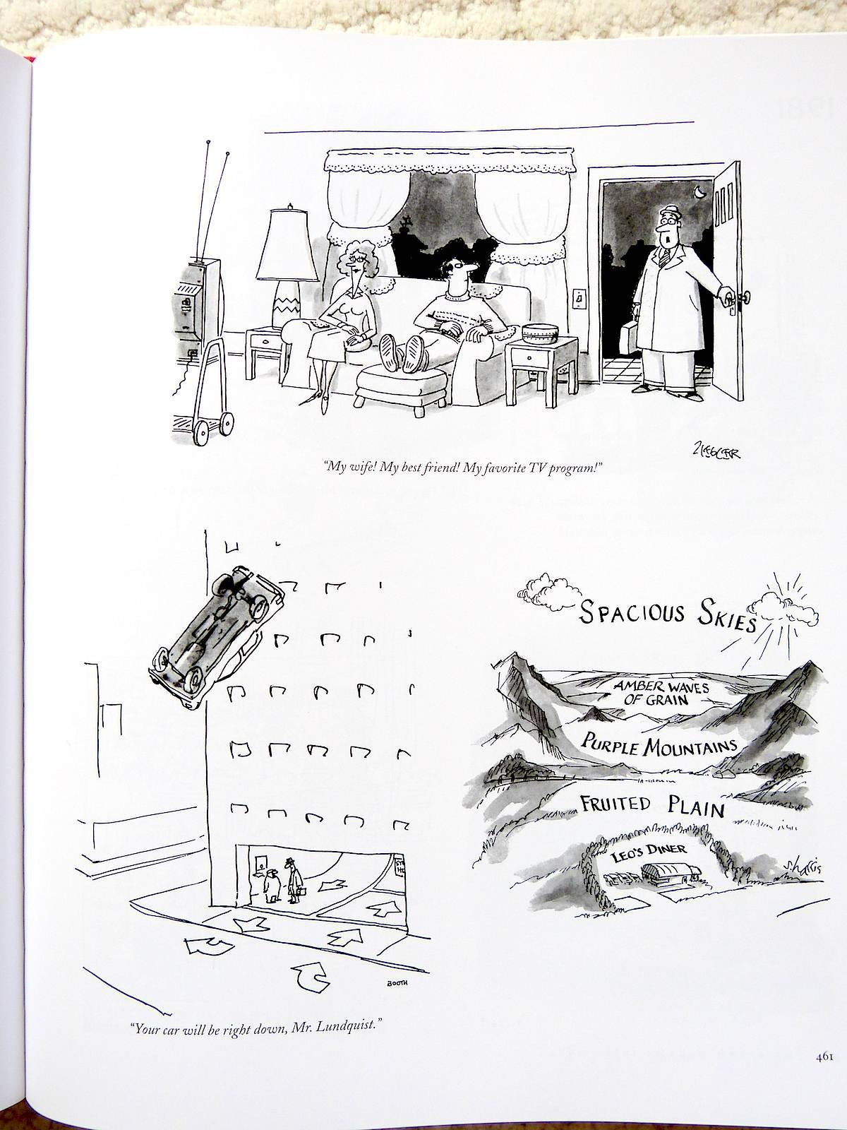 The 2 200 New Yorker Cartoons Collected In This Tome Are