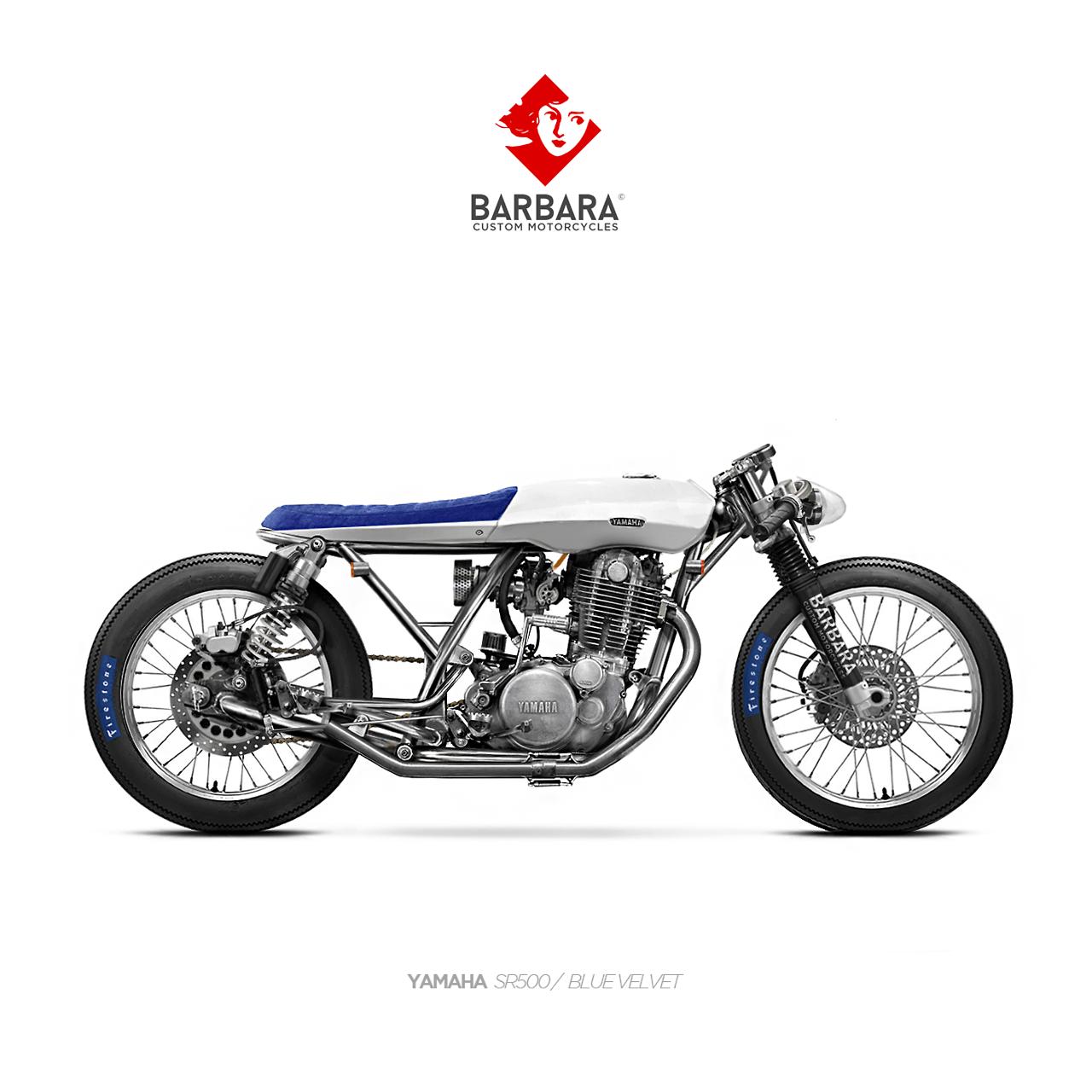 Barbara Motorcycles Yamaha Sr500