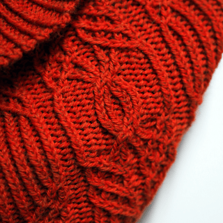 1565d6b55b5 Wrought By Time Cowl by Nin Leavitt on Ravelry (free if you can solve the  riddle!)