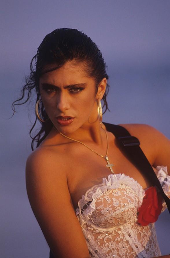 Italian singer and model Sabrina Salerno (1988… – Pop Culture