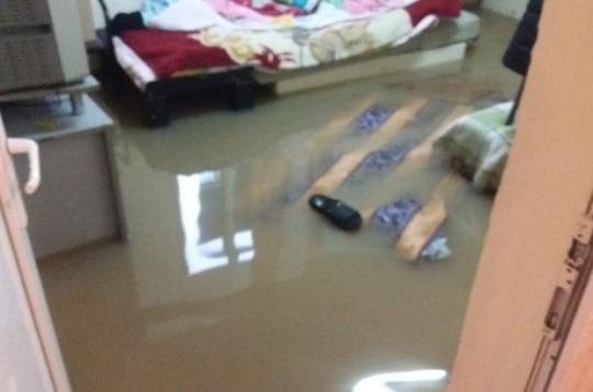 Zafer Mahallesine Su Baskını