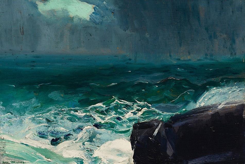 George Bellows - Approach of Rain - 1913