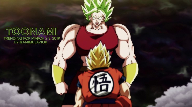 """""""""""We face everything together. Caulifa, you don't think I'm interfering, do you? *Cries* Now you make it seem like I'm not good enough for her again, like I'll always let her down! This is your fault. Yours Goku! You're taking my one and only away..."""