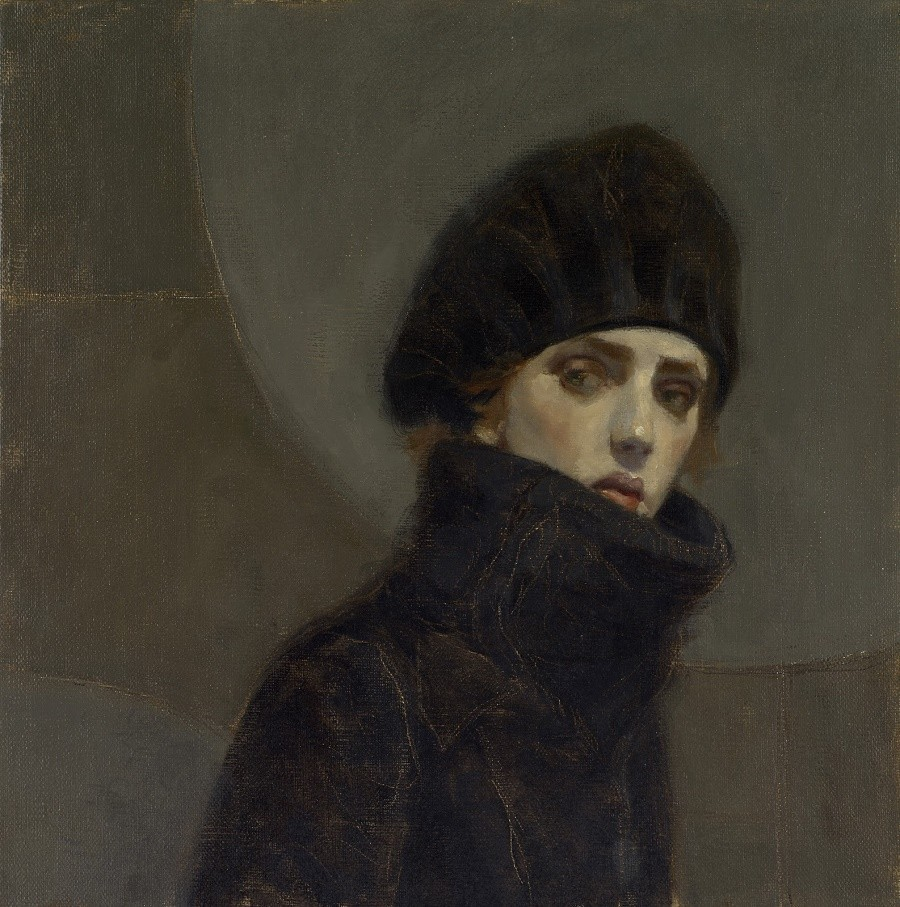 "huariqueje: "" Portrait of a Lady - Jan Mankes , nd. Dutch 1889-1920 """