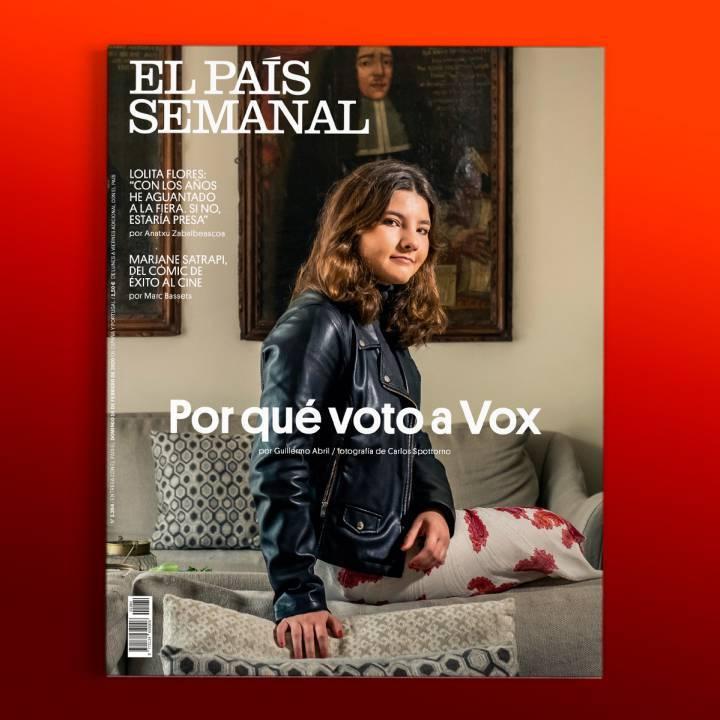 La normalización de la extrema derecha: «Por qué voto a Vox», este domingo, en 'El País Semanal'
