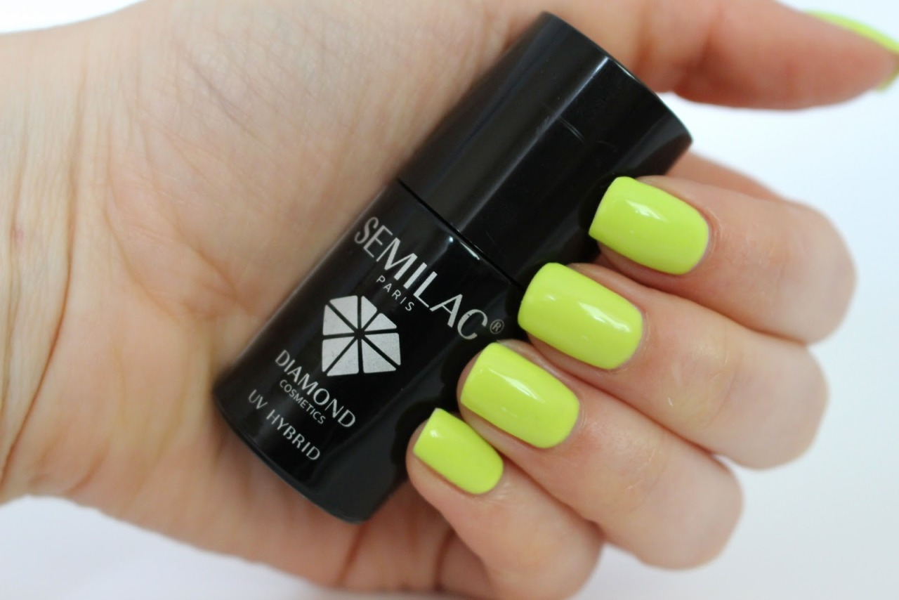 Semilac By Diamond Cosmetics Our New Color Fresh Lime 143 By