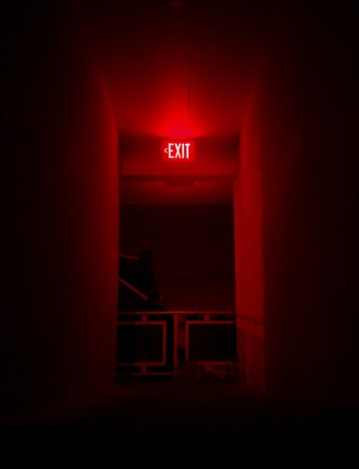 Image result for red hallway