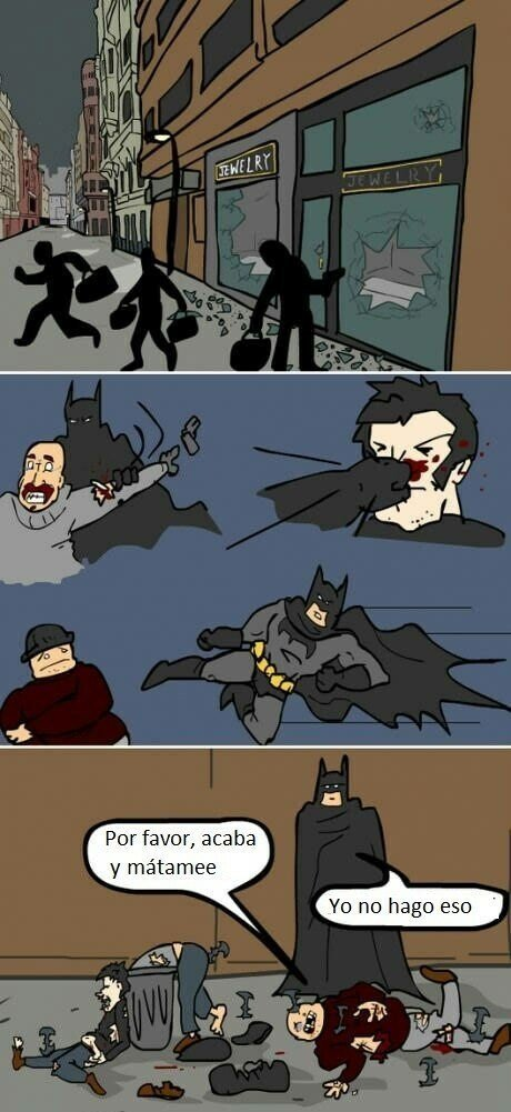 Batman no mata