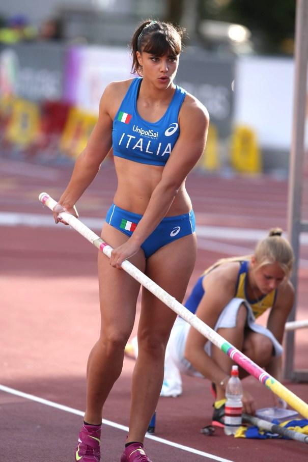 Sonia Malavisi Italy 2015 European Champion Gymnastics