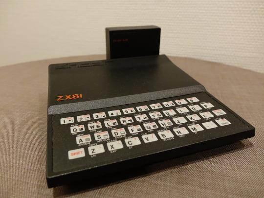 Der Sinclair ZX81. Mein erster Computer. Teil meines Computermuseums aus Sinclair- und Atari-Rechnern