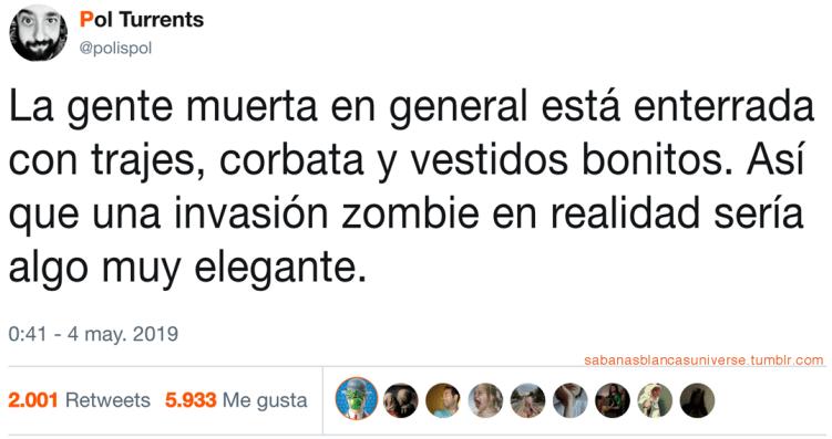 Holocausto zombi elegante