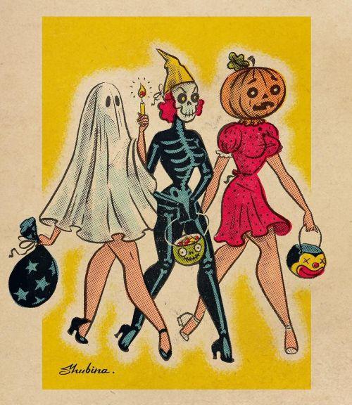 tumblr_phddvge4uq1qz6f9yo10_500 Halloween Pin-ups, Sveta Shubina Random
