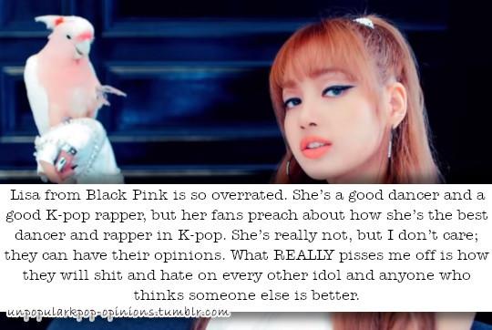 Lisa from BP is so overrated  Like she's a g… – KPop Fan