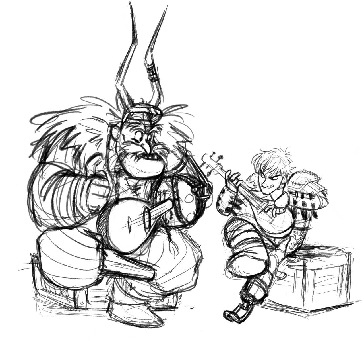 Crazyviking Faragonart To Ease A Bit Of The Pain From