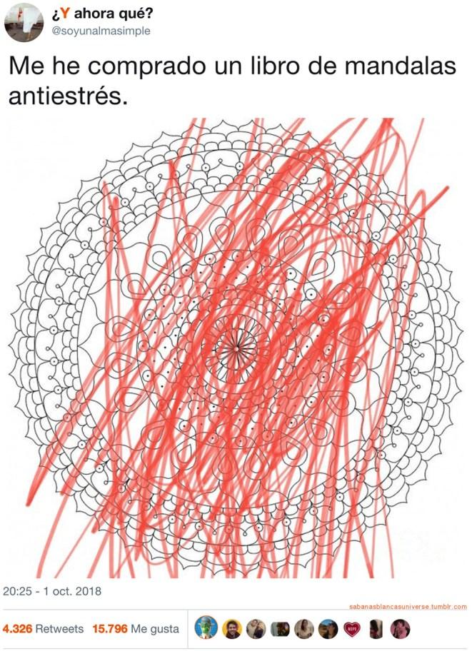 Mándalas antiestrés