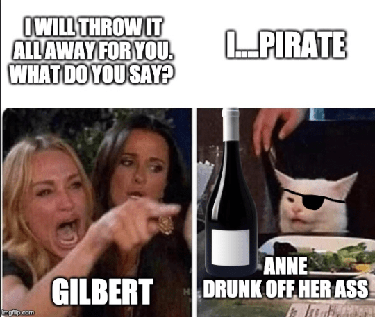 You Had One Dance With Her Gilbert Episode 3x05 Meme Anne