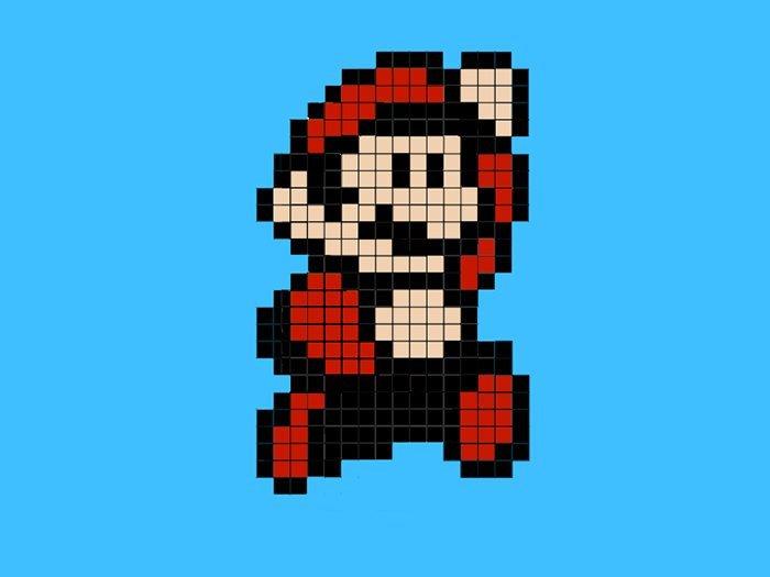 Minecraft Mario Pixel Art Gallery Of Arts And Crafts