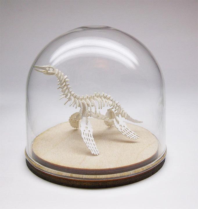 Culture N Lifestyle CNL Miniature DIY Paper Skeleton