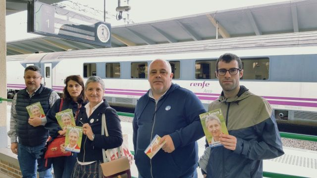 Lídia Senra reclama unha UE na que se potencie o transporte ferroviario de cercanías 100% público