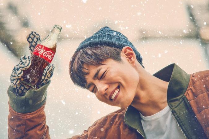 Image result for park bogum coca cola