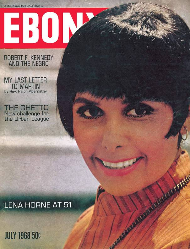 1960′s Ebony Magazine Covers – R&B