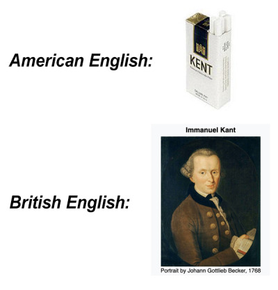 Funny Photo Colllections American English Vs British English