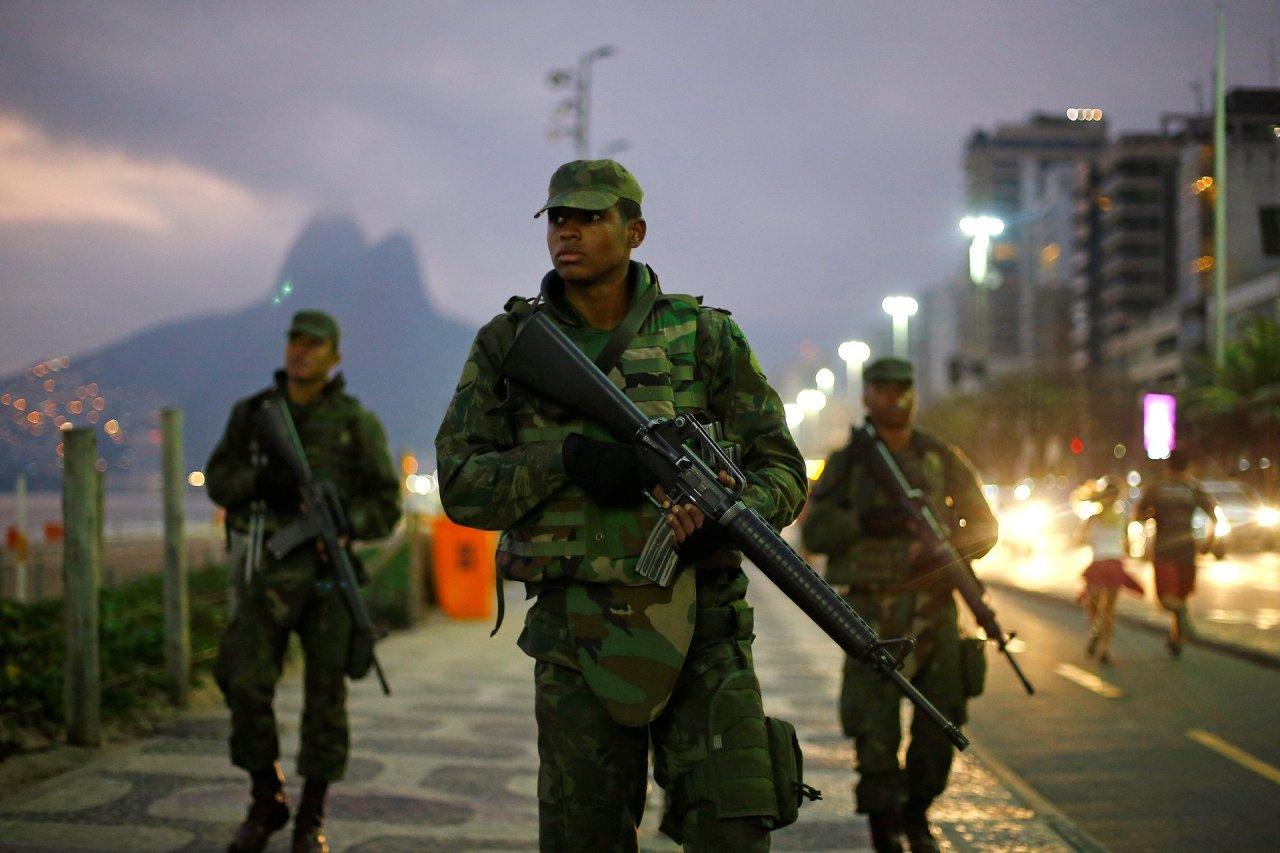 Rio de Janeiro, Brazil TUTTO E' PRONTO PER LE OLIMPIADI Photograph: Ivan Alvarado