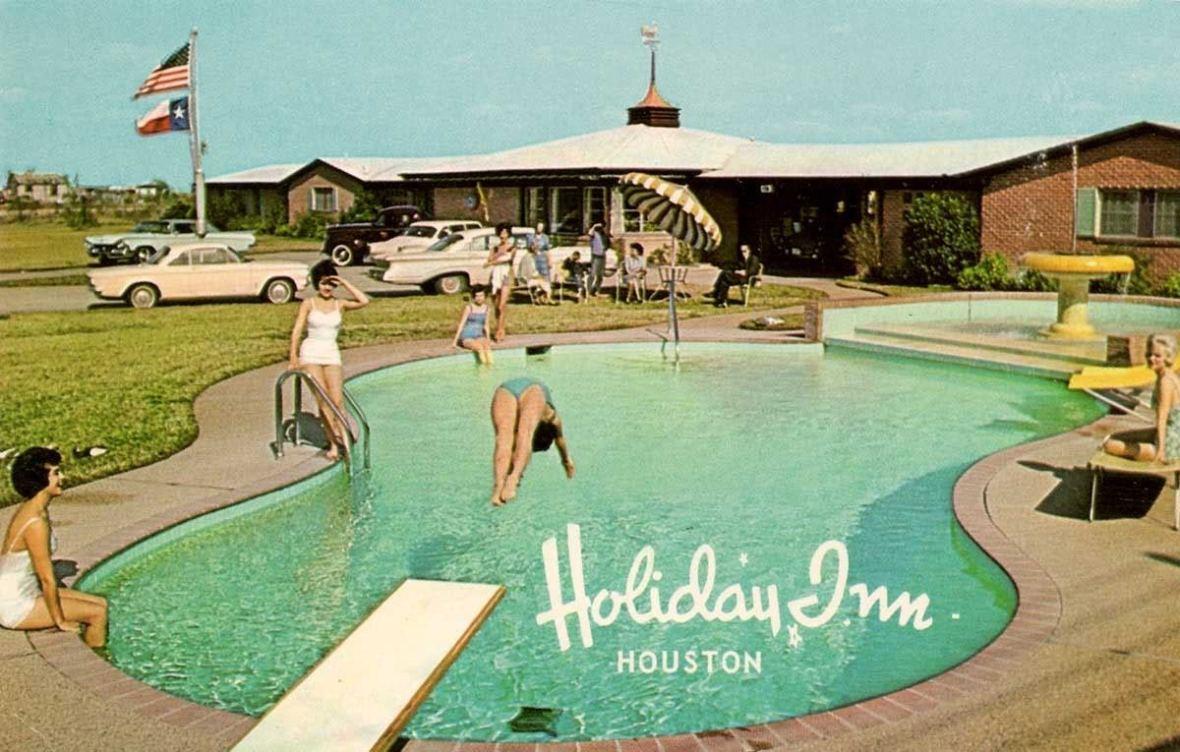 Holiday Inn - Houston, Texas U.S.A. - 1950s