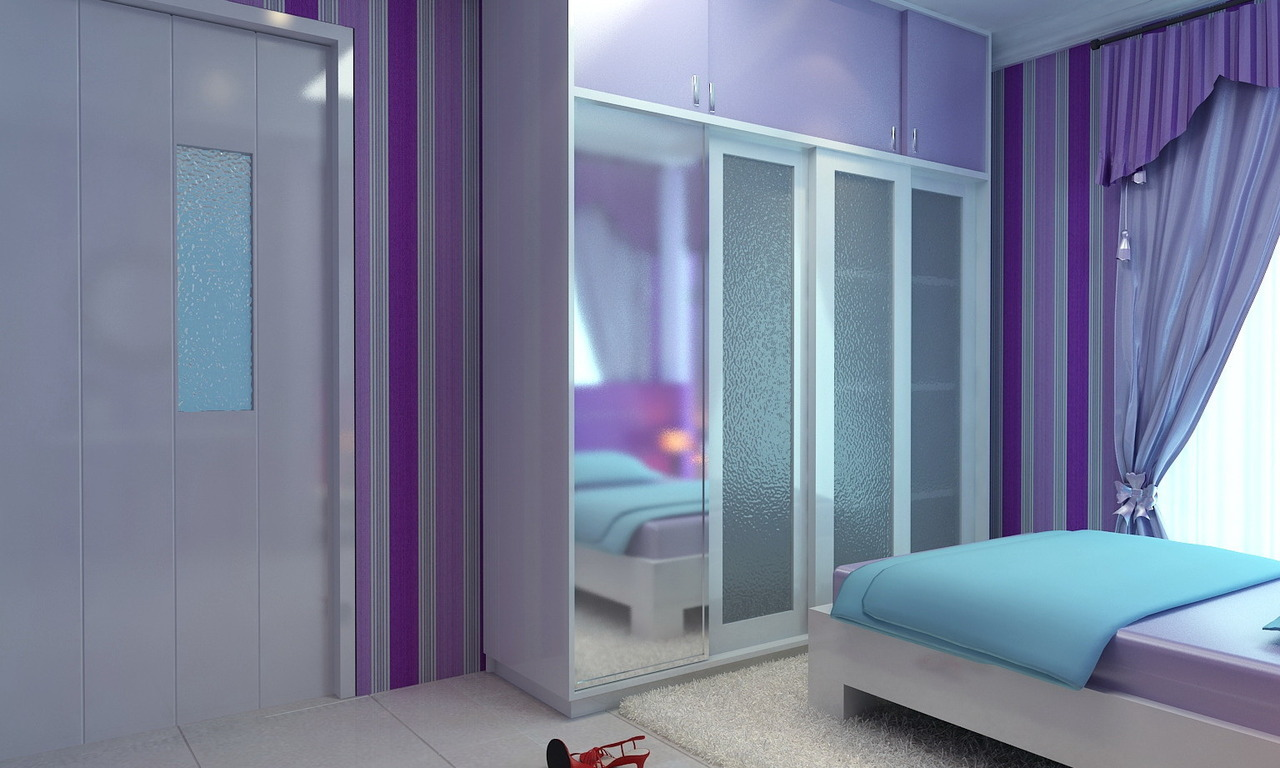Ambience Consultant Cute Pink And Purple Girls Bedrooms
