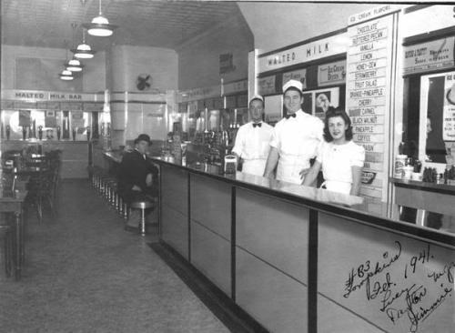 1950 Malt Shop S