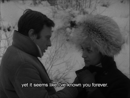 """whitemystere: """" """" My Night At Maud's/Ma Nuit Chez Maud - Eric Rohmer, 1969. """" Charmant ! This is the best feeling. """""""