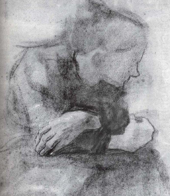 "maryvangils: ""Kathe Kollwitz, Sitting woman with crossed arms, 1904 """