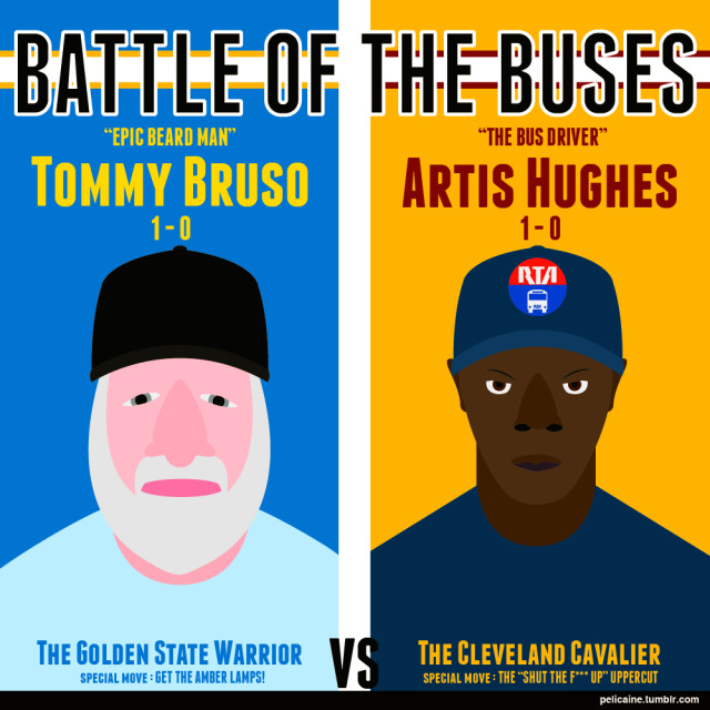Beard Man Bus Fight Epic