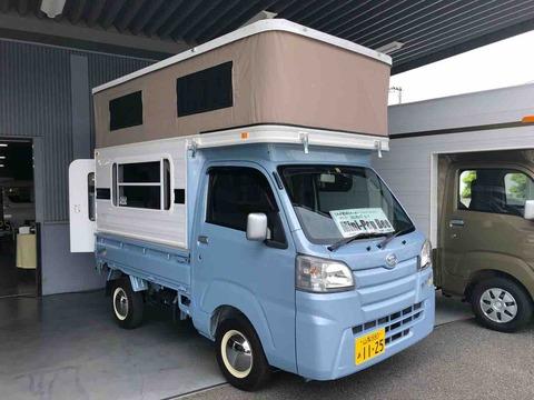 軽キャンピングカー購入記②【MINI POP BEEとレジストロ試乗】