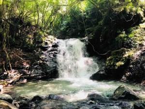 道志、的様の滝