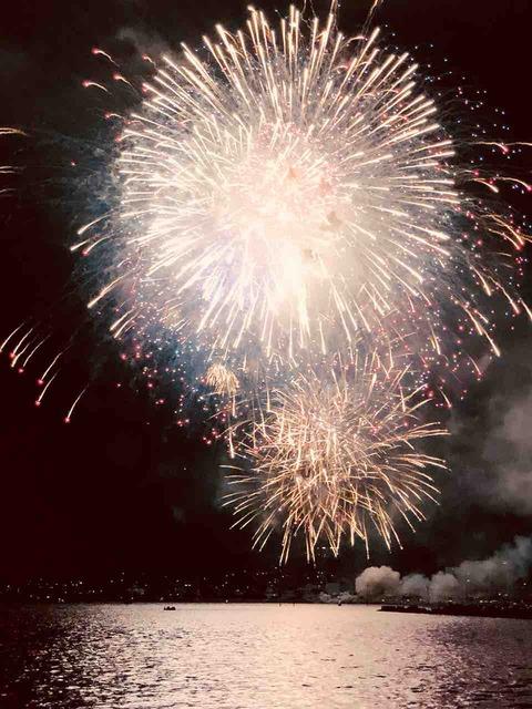諏訪湖祭湖上花火大会