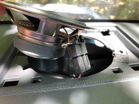 ハイゼットトラックのスピーカー交換