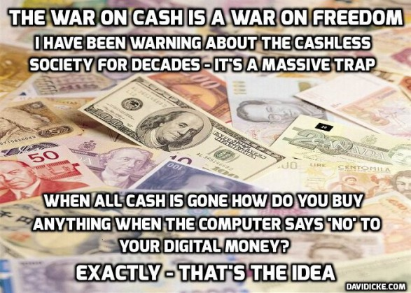 Image result for cashless world leads to mark of the beast economy