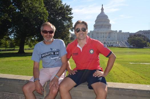 Tenemos nuestro propio asiento en el Capitolio, eso sí, fuera