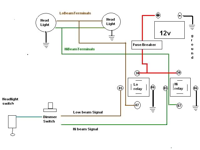 Wiring In Relays For Your HEADLIGHTS