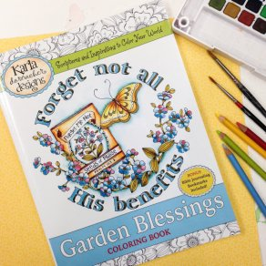 Garden Blessings Front Cover