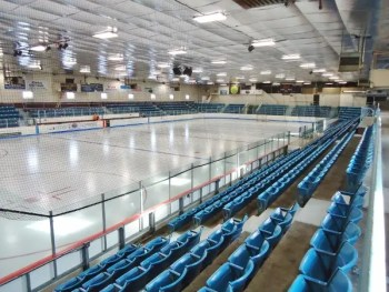Inside the Clinton Arena