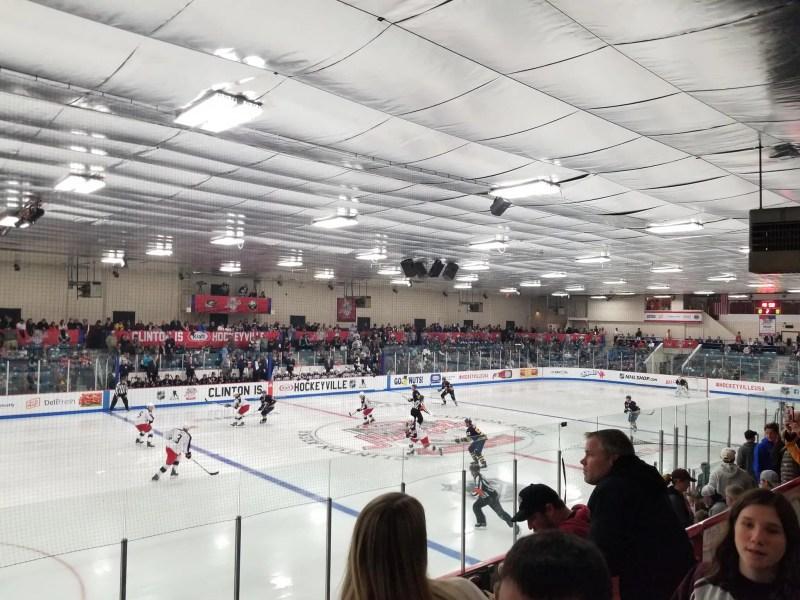 Columbus Blue Jackets vs. Buffalo Sabres at The Clinton Arena