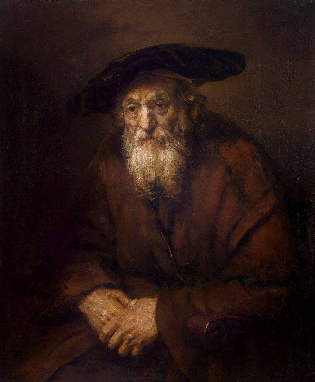 Rembrandt - Portrait of an Old Jew - 1654