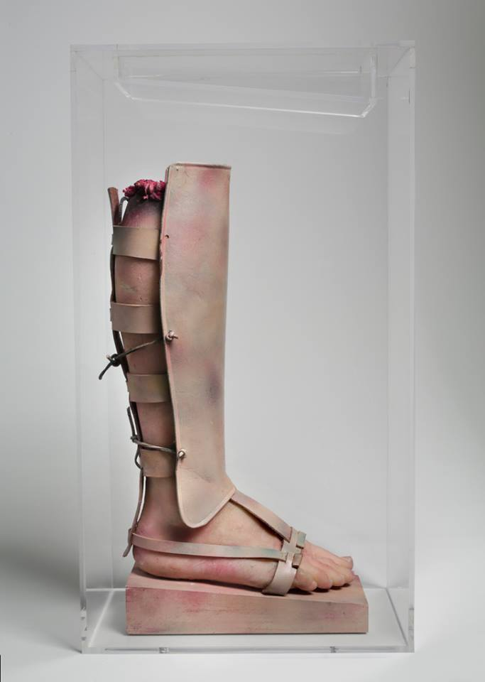 Image result for paul thek warriors leg