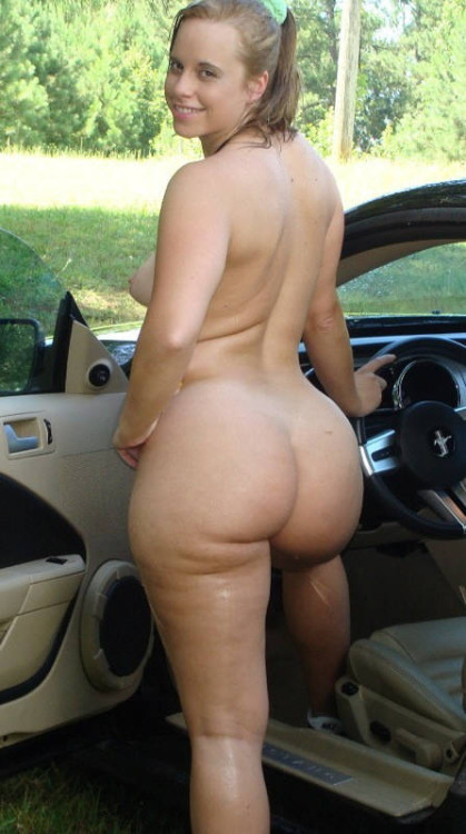 Beautiful woman, ample haunches, ready for a fast ride.