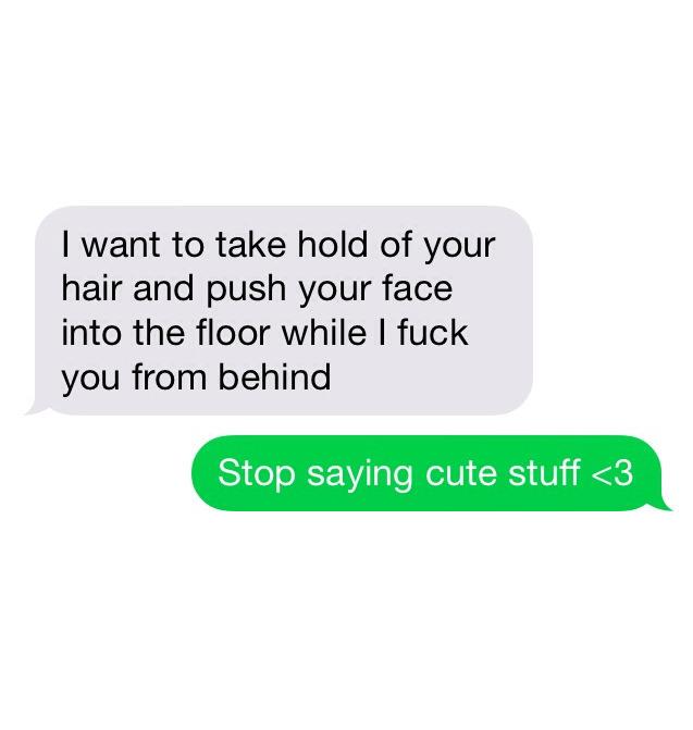 Dirty Text Messages Screenshots