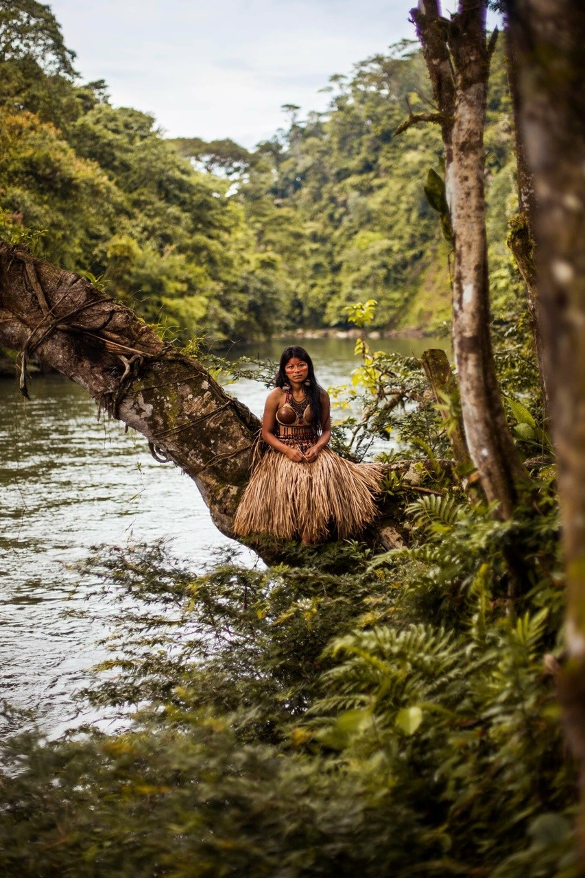 In my first journey around the world, I visited the Amazon Rainforest, in search of authentic beauty, untouched by the modern world, like the nature around it.