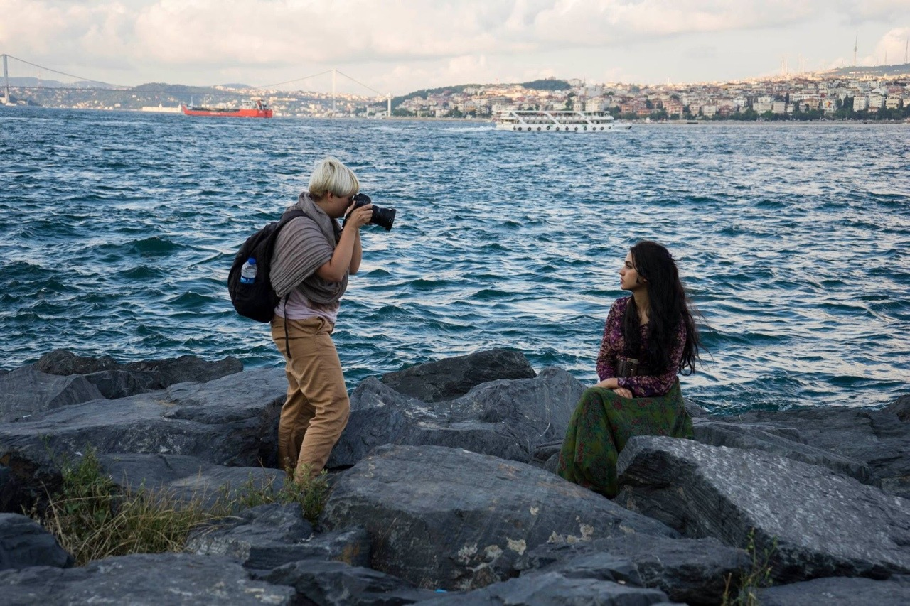 I just started the second journey around the world, with The Atlas of Beauty. Yesterday, in Istanbul, Turkey.